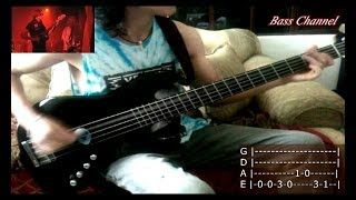 Juicebox - The strokes (BASS COVER) + TABS