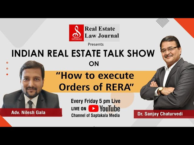 Indian Real Estate Talk Show on