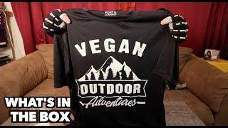 Vegan Outdoor Adventure Box & Opening Packages
