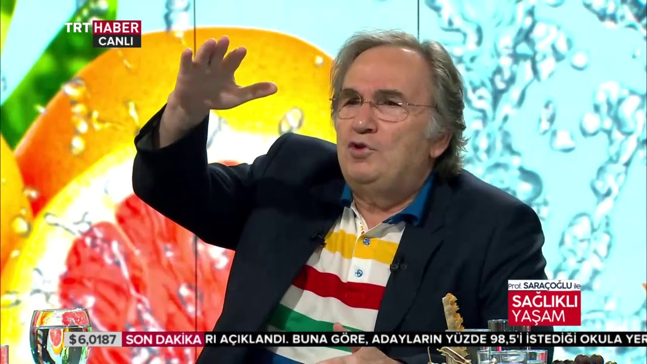 Prof. Saraçoğlu ile Sağlıklı Yaşam 19.08.2018