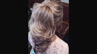 Hairstyle, высокий хвост, прическа для невесты