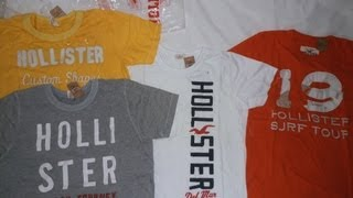 [#31] Unboxing - AliExpress - 4 camisas Hollister