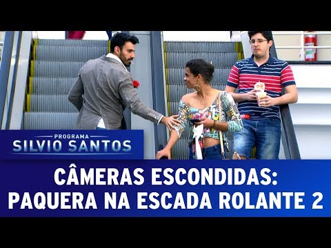 Paquera na Escada Rolante 2 - Love Escalator Prank 2 | Cmeras Escondidas (23/07/17)