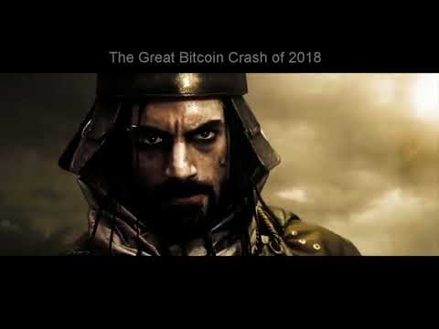 The Great Bitcoin Crash of 2018 Bitcoin SPARTA only BUY
