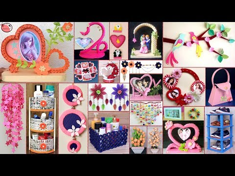 25-paper-crafts-!!-diy-room-decor-2019-||-diy-projects-!!!