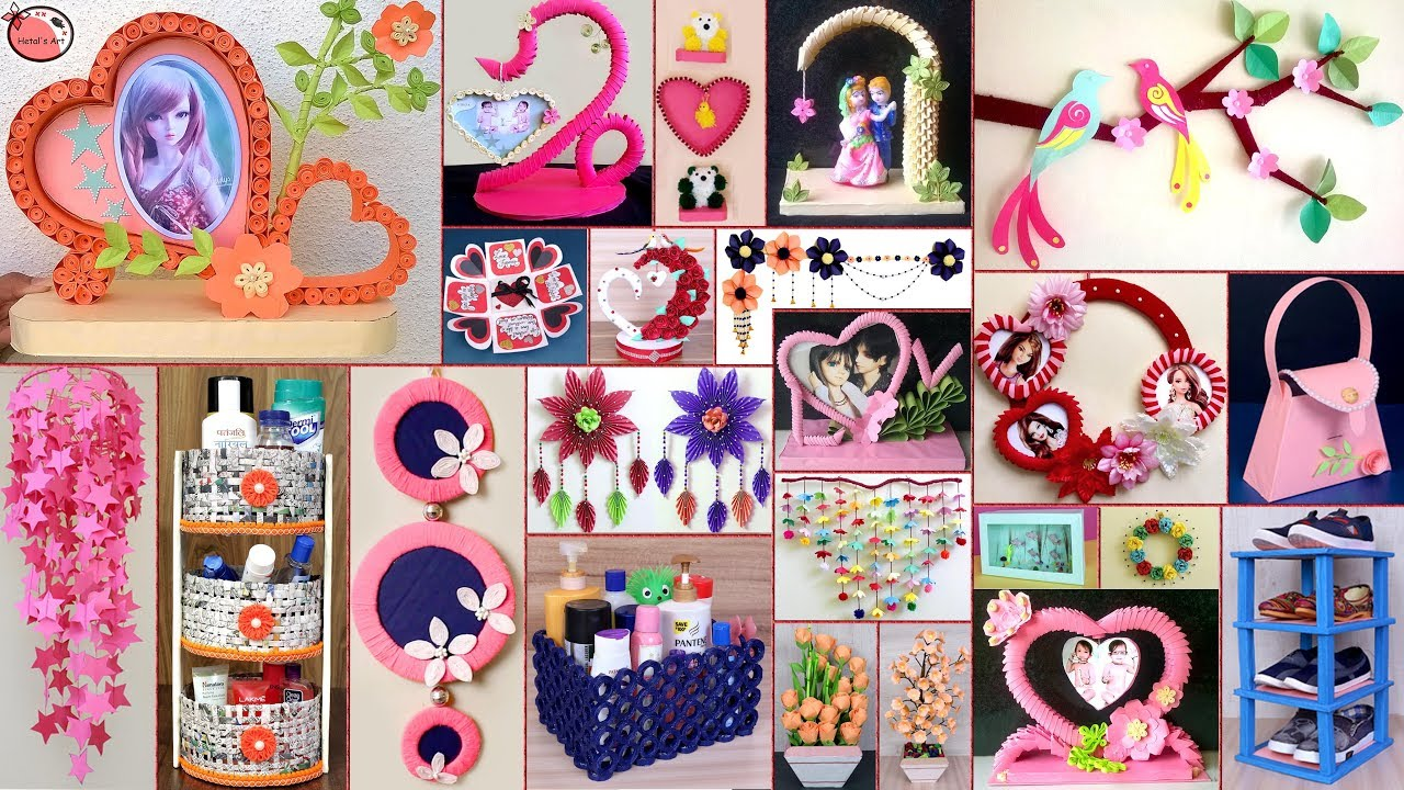 25 Paper Crafts Diy Room Decor 2019 Diy Projects Youtube