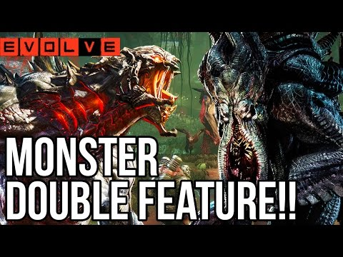 GOLIATH+KRAKEN DOUBLE FEATURE!! - Evolve Gameplay Walkthrough - Multiplayer - Part 8!! (XB1 HD)