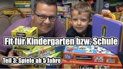 Fit für Kindergarten & Schule Teil 3 - Top Lernspiele ab 5 Jahre (+ Hinweis zum Alter)