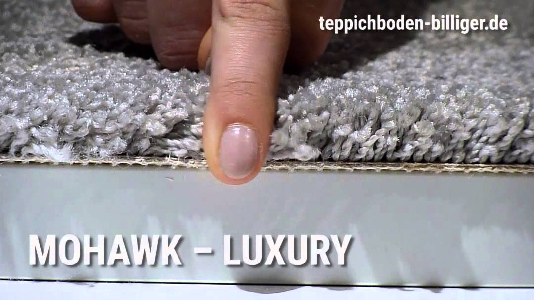 """Billiger teppichboden  Der Wohlfühl-Teppichboden """"Mohawk Luxury"""" mit SmartStrand - YouTube"""