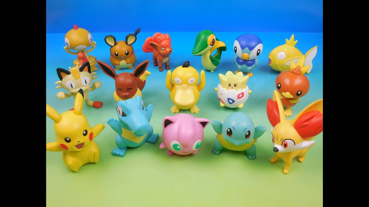 2016 Pokemon Set Of 16 Mcdonalds Happy Meal Kids Toys Video Review