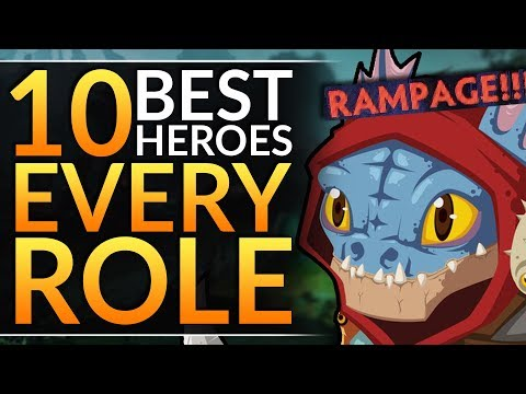 Top 10 BEST HEROES to Main in 7.23F - BROKEN Meta Picks for EVERY ROLE - Dota 2 Pro Guide