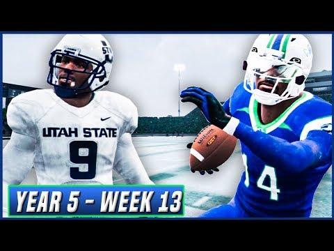 NCAA Football 14 Dynasty Year 5 - Week 13 vs Utah State | Ep.84