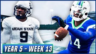 NCAA Football 14 Dynasty Year 5 - Week 13 vs Utah State | Ep.84