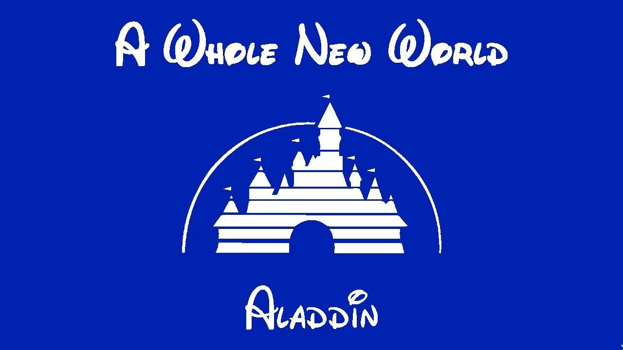 A WHOLE NEW WORLD Aladdin Free Sheet Music Download