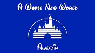 A WHOLE NEW WORLD - Piano Cover - Aladdin - Free Sheet Music Download