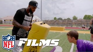 Jarvis Landry Goes Home to Lend a Helping Hand   NFL Films Presents