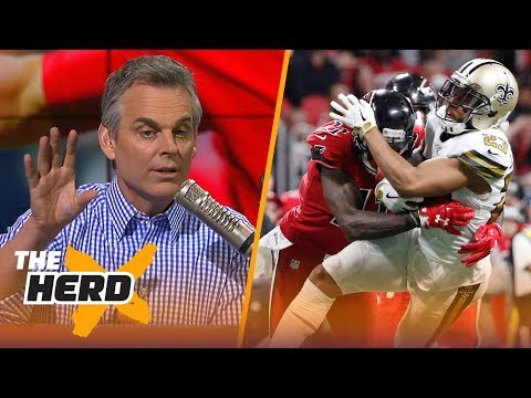 Colin Cowherd on Atlanta's win over New Orleans and Week 14's biggest NFL games  THE HERD
