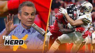 Colin Cowherd on Atlanta's win over New Orleans and Week 14's biggest NFL games | THE HERD