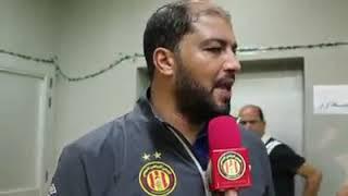 [CL 2018, Finale, Match Aller] Al Ahly SC Egypt 3-1 EST - Déclaration d'après Match: Mouine Chaabani