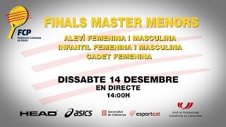 Finals Master Catala Menors