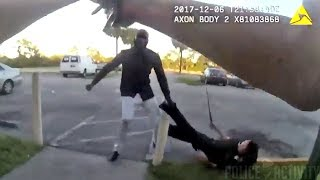 Video Police Fatally Shoot Suspect After Dragging Cop By The Leg download MP3, 3GP, MP4, WEBM, AVI, FLV Januari 2018