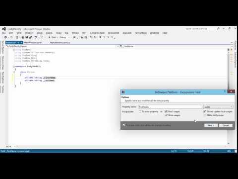 Fody Module 2 : 4  Less Code (PropertyChanged)