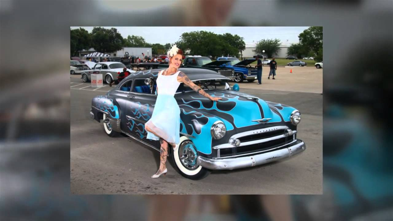 Delicious Dolls Magazine HeadRush Car Show YouTube - Car show dolls