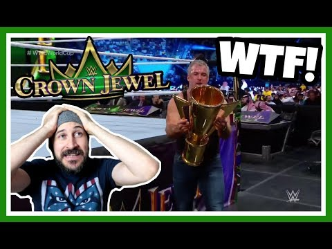 SHANE MCMAHON WINS WWE WORLD CUP!!! | WWE CROWN JEWEL REACTION