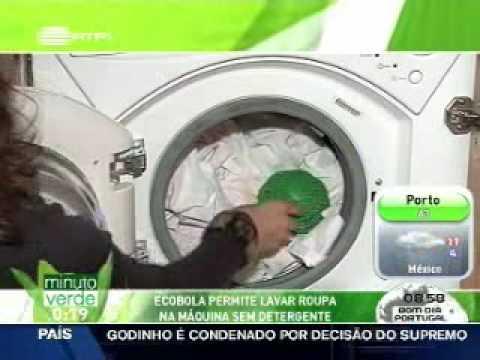 09d95c4be Eco Bola de lavar roupa sem detergente - YouTube