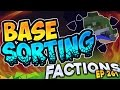 Minecraft Factions #261 - Sorting The Base Out!  (Minecraft Raiding)