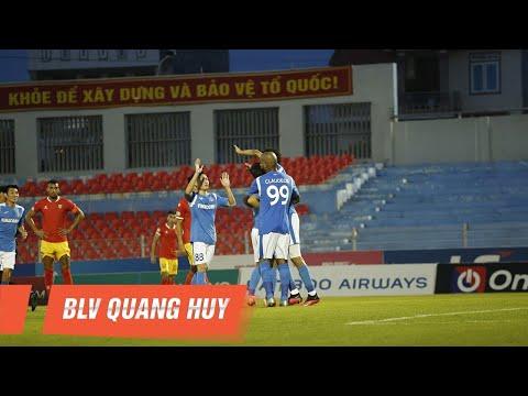 Highlights   Hồng Lĩnh Hà Tĩnh - Than Quảng Ninh   Chiến thắng của bản lĩnh   BLV Quang Huy
