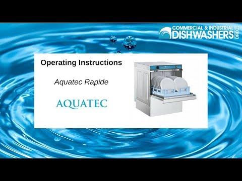 Operating Instructions: Aquatec Rapide