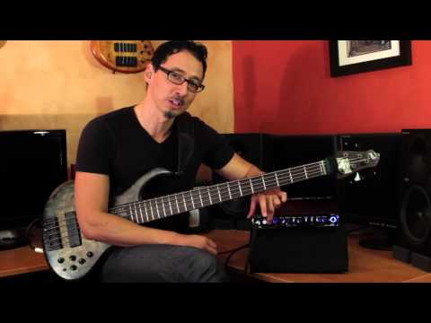 Gallien-Krueger MB Fusion 800 Demo by Norm Stockton