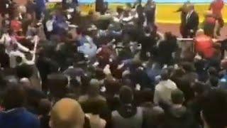 Массовая драка в Дагестане. Турнир по дзюдо превратился в побоище