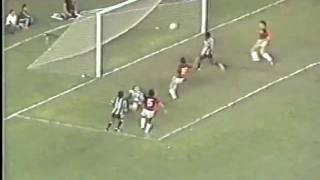 Botafogo 3 x 1 Flamengo (1981) - melhores momentos