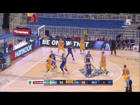 Highlights: Barcelona - Maccabi FOX Tel Aviv 87:92