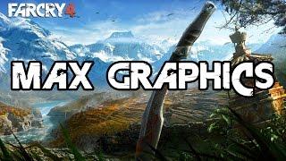 Far Cry 4 Ultra (Max NVIDIA) Settings 1080@60FPS