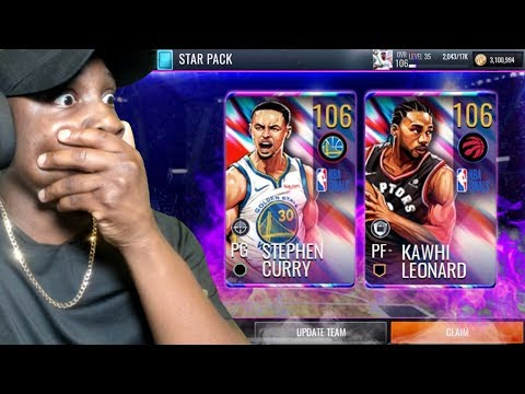 1% CHANCE STAR PACK OPENING + POTG & SIGNATURES! NBA Live Mobile 19 Season 3 Ep. 112