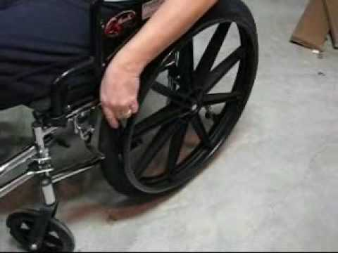 CoolHubcaps Wheelchair Tire covers.wmv