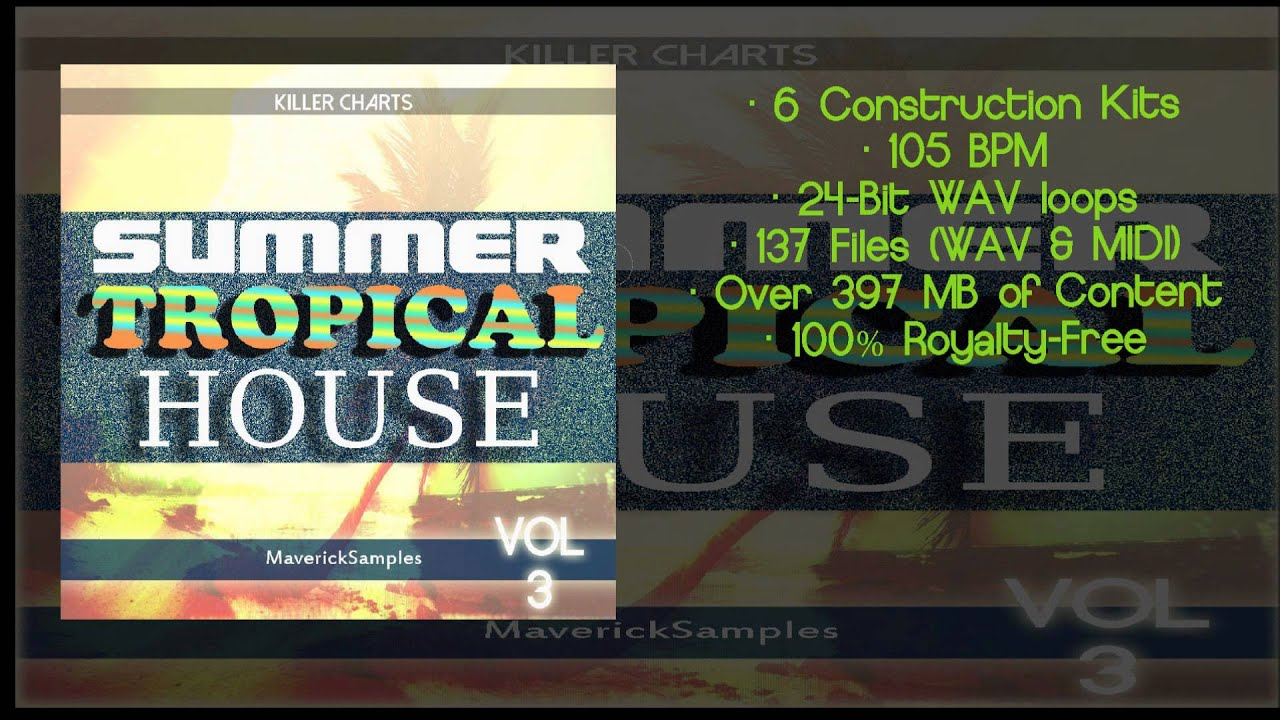 Tropical House Sample Pack Samples vol 3 - YouTube