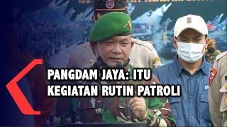 Viral Mobil Kendaraan Militer Berhenti di Petamburan, Pangdam Jaya: Itu Patroli Rutin