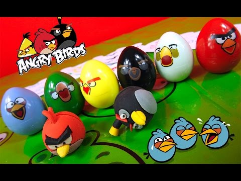 ANGRY BIRDS - Stamp and GO Set - Play and Fun for kids - Unboxing by TheSurpriseEggs
