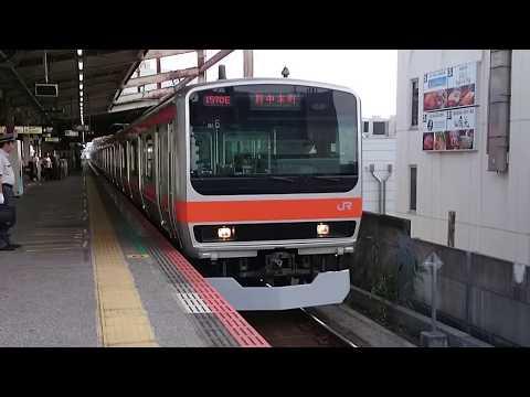 E231系0番台千ケヨMU6編成 JR武蔵野線各駅停車府中本町行き 西船橋駅発車