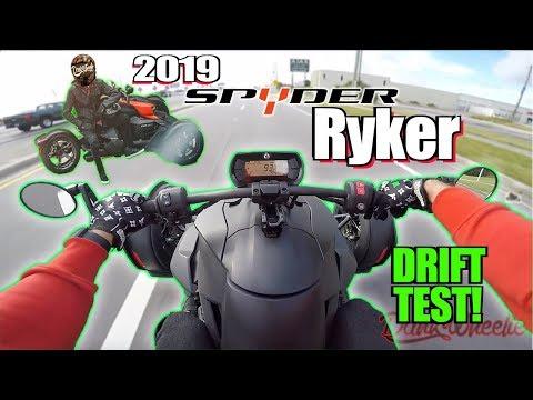 2019 Can-Am Spyder Ryker 900 Test Ride + Review - Burnout Machine!