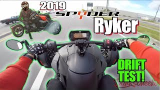 2019 Can-Am Spyder Ryker 900 Test Ride + Review - Burnout Machine!