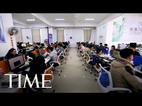 How 'AI Farms' Are At The Forefront Of China's Global Ambitions | TIME