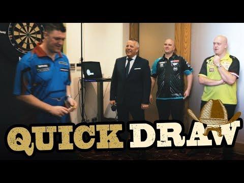 MVG, Rob Cross, Daryl Gurney shoot fast in Quick Draw!