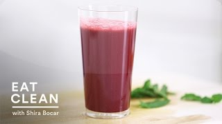 Detoxifying Beet, Apple And Mint Juice - Eat Clean With Shira Bocar