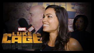 Rosario Dawson and Frankie Faison – Marvel's Luke Cage Premiere