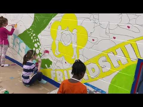 Noxon Road Elementary School Mural 2020